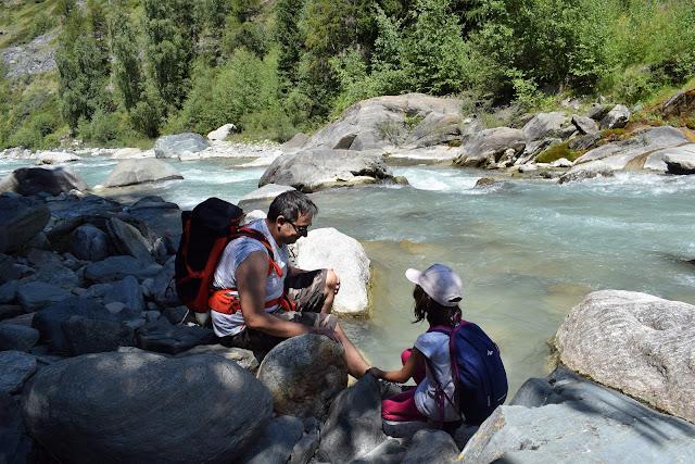 Cascate di Lillaz: il torrente