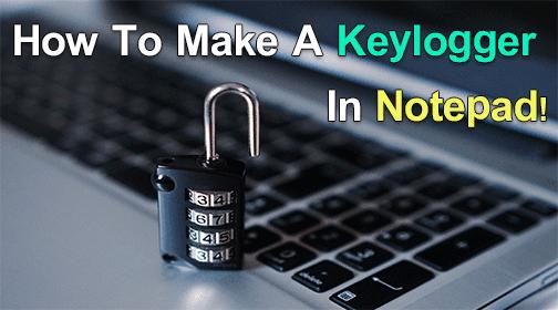 make-keylogger-using-notepad