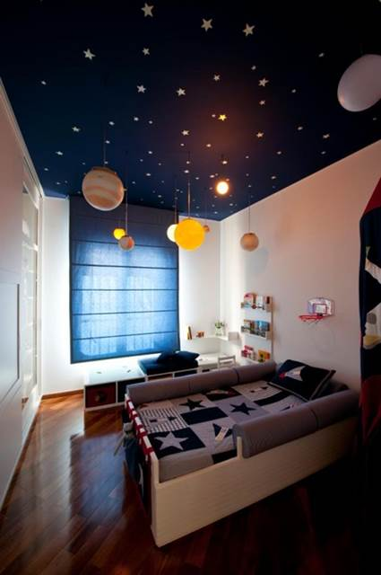 Cool and Stylish children's themed rooms 6
