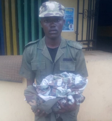 Police arrest robber in army uniform in Ogun State