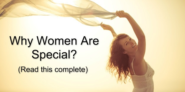 women are special,