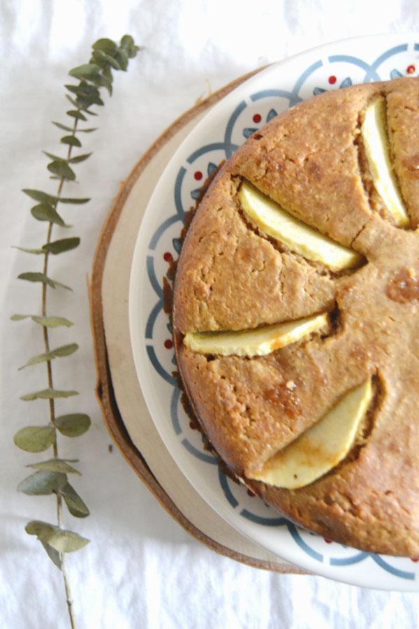 recette gateau aux pommes facile dietetique spoonencore