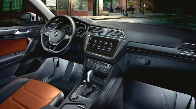 Tampilan Interior VW New Tiguan