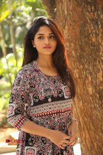 Actress Sunaina Latest Stills in Floral Dress at Pelliki Mundu Prema Katha Trailer Launch  0011.JPG