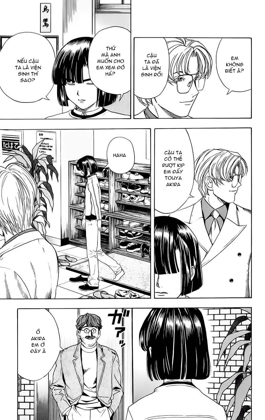 Hikaru No Go hikaru no go chap 46 trang 15
