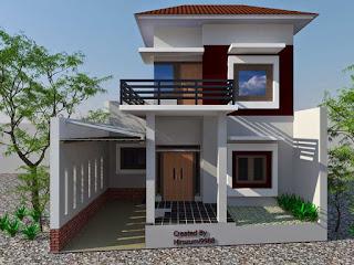 Model Rumah Tingkat Sederhana