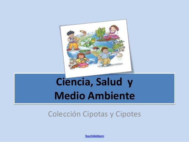 Ciencia, Salud y Medio Ambiente 1: Cuaderno de Ejercicios