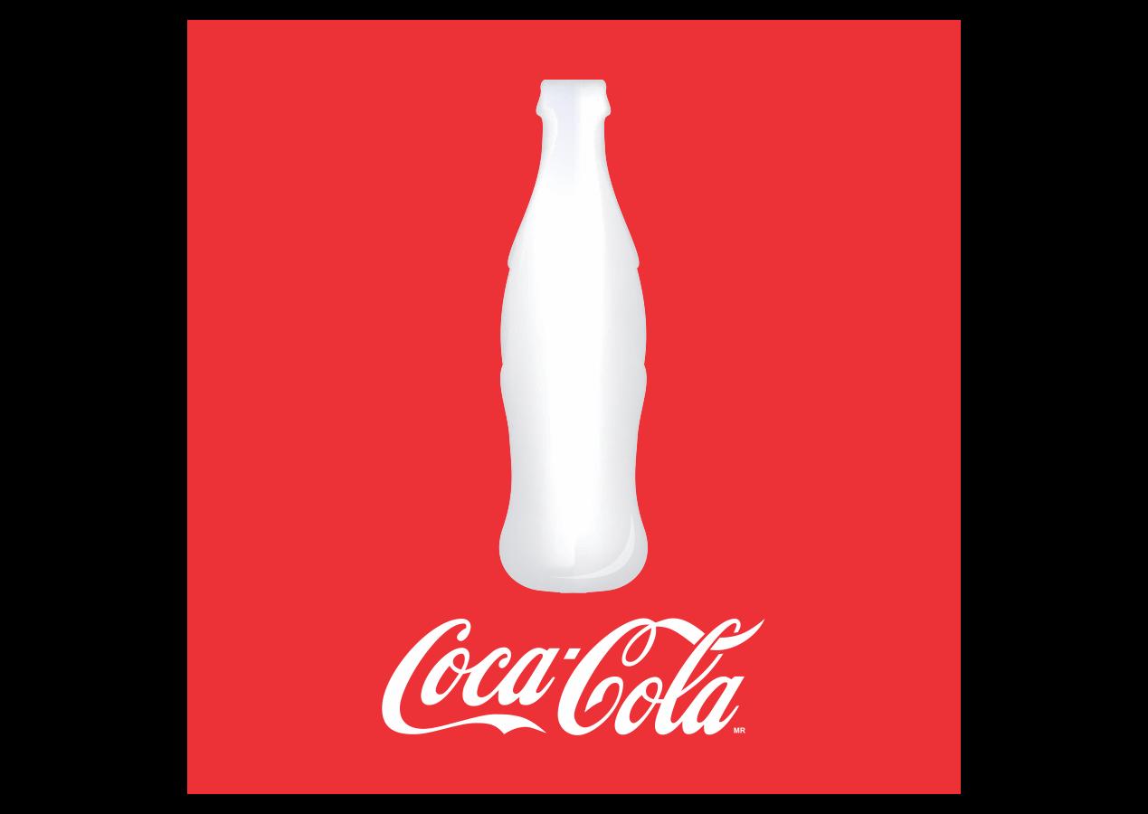 Coca-cola with bottle Logo Vector~ Format Cdr, Ai, Eps ...  Coke