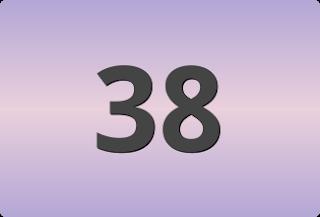 เลขท้ายสองตัวที่ออกบ่อย, เลขท้ายสองตัวที่ออกบ่อย 38