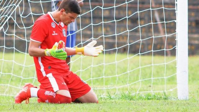 Goleiro do Ceilândia, Victor Brasil vê reencontro contra o líder Gama 'muito especial' e quer os três pontos em casa