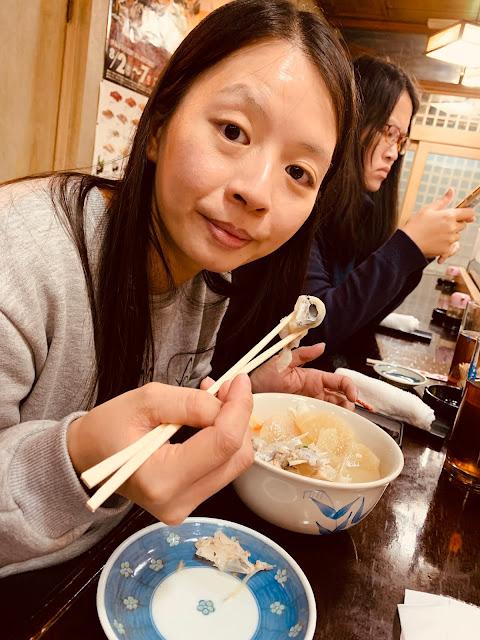 青森朝市壽司-味噌湯