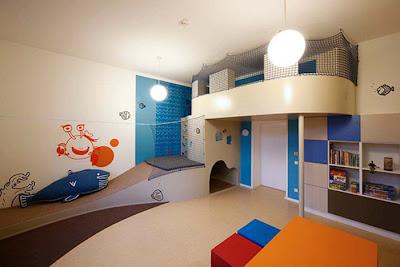 Decoración de un hospital para niños
