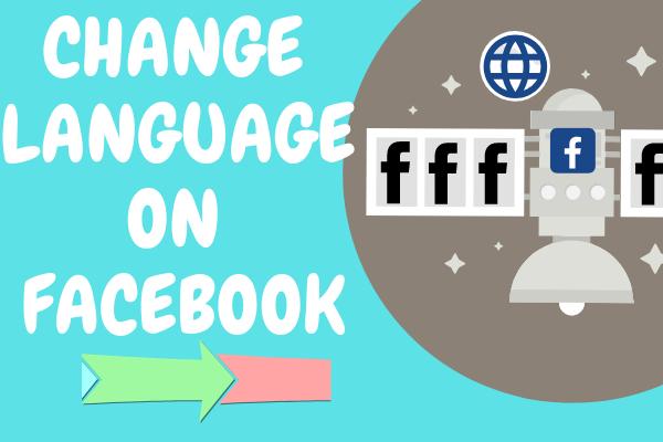 Change Language On Facebook