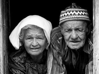 yaşlı karı koca
