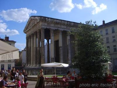 faune, esquisse, vienne, temple romain, Auguste, empereur romain, Rhône, Allobroges