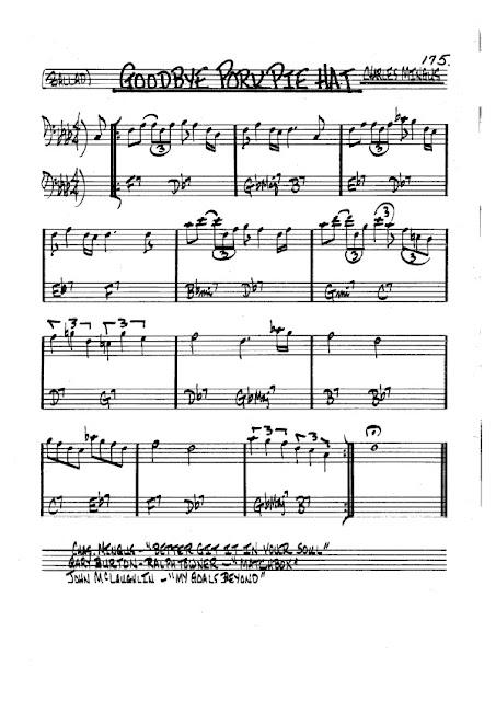 Partitura Trombón Charles Mingus