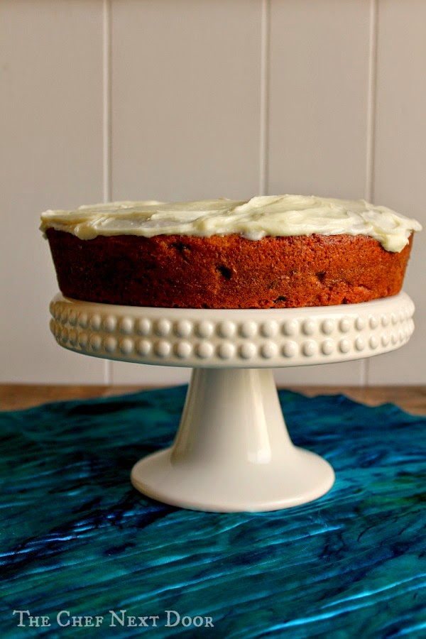 Sour Cream Spice Cake with Cream Cheese Frosting | The Chef Next Door