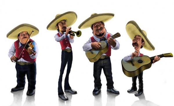 lo básico para que suene un mariachi - instrumentos