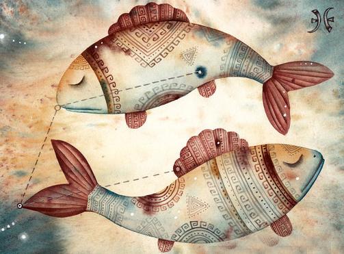 брак рыба с рыбой
