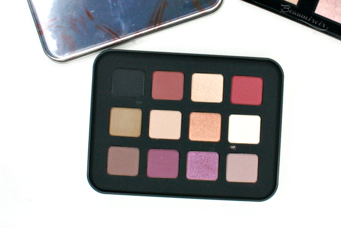 Review, photos, swatches of MUFE holiday eyeshadow palette, and why it didn't work for me.