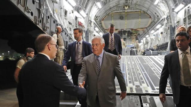 U.S Secretary of State Rex Tillerson