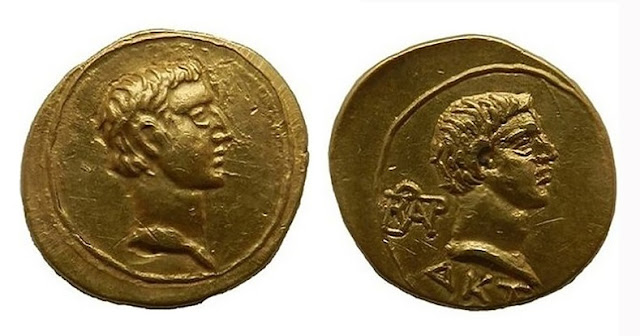 Rare gold coin of the Roman Empire discovered in South Russia