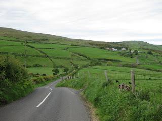 Rollnig along the Torr Road, Northern Ireland