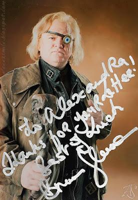 Brendan Gleeson - Autograf - Autograph - Szalonooki Alastor Moody Harry Potter