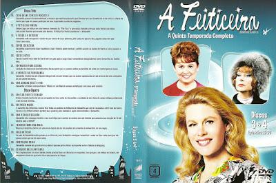 Série A Feiticeira 5º Temporada DVD Capa