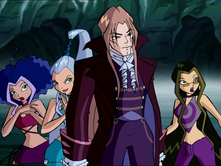 фото всех злодеев из винкс окраине поселка расположен