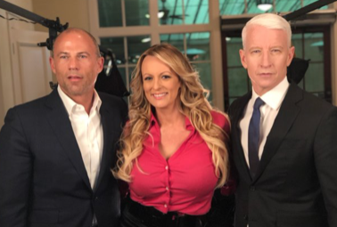 Anderson Cooper interviews Stormy Daniels for '60 Minutes'