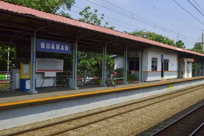 Alamat Stasiun Buaran