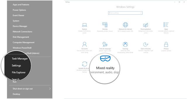 Cara Menggunakan Simulator Windows Mixed Reality di Windows  Cara Menggunakan Windows Mixed Reality Simulator di Windows x Creator Update