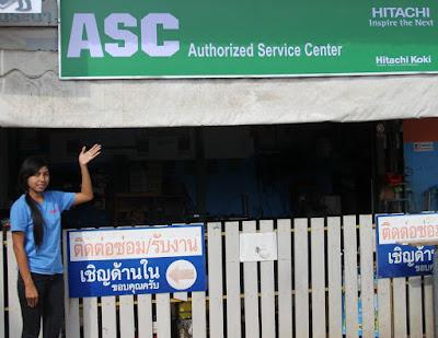 ASC tool repairs in Buriram for Metabo Hitachi Kaiser Biz Pigeon Bosch
