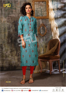 S4U Gold vol 2 Fancy Summer kurti by #Shivali