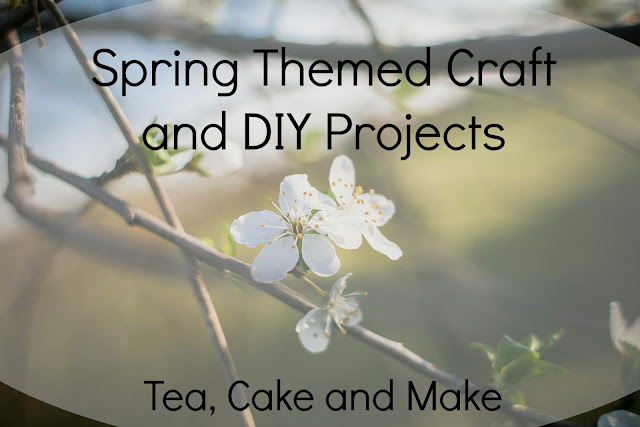 spring crafts and DIYs