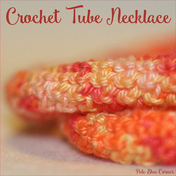 Crochet Tube Necklace