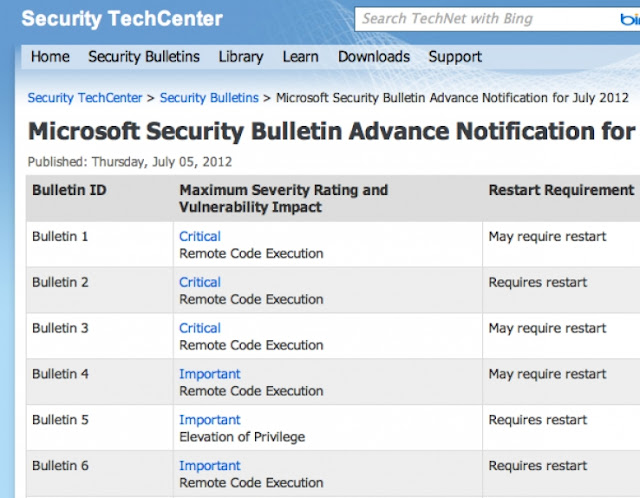 Microsoft to patch three critical vulnerabilities on Tuesday