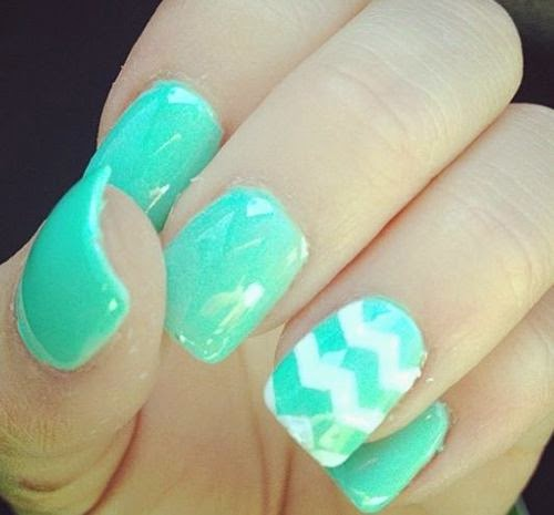So cute nail art design