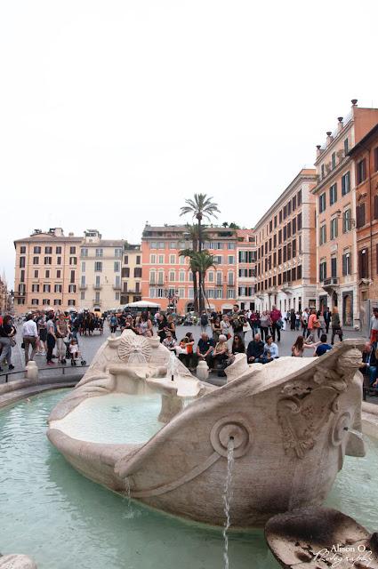 Piazza di Spagna - citytrip Rome