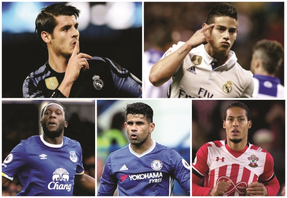 The transfer window will open soon with five players expected to leave their clubs.
