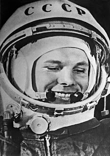 first person to go into space Yuri Gagrin