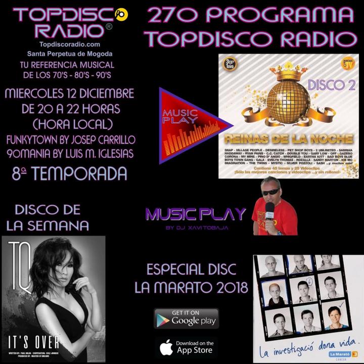 270 Programa Topdisco Radio