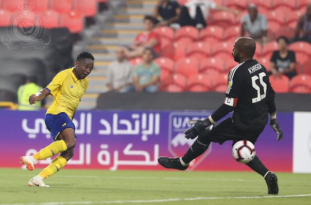 Ahmed Musa picks his spot to score on his Al Nassr debut in Saudi Arabia