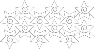 Pattern ' Starlets' by Patricia Ritter