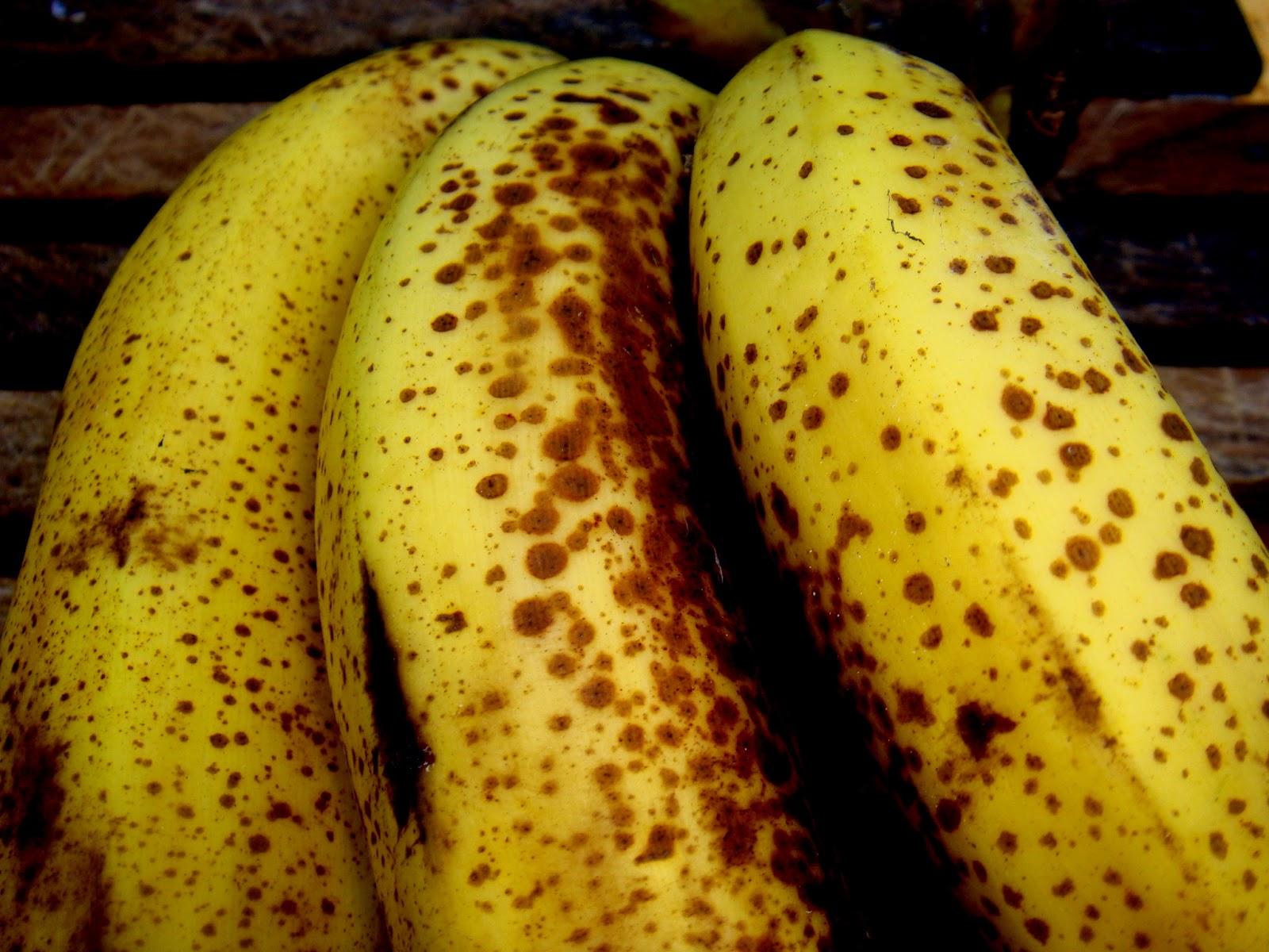 Conhecido come-se: Banana madura para doce mas nem tanto VF32
