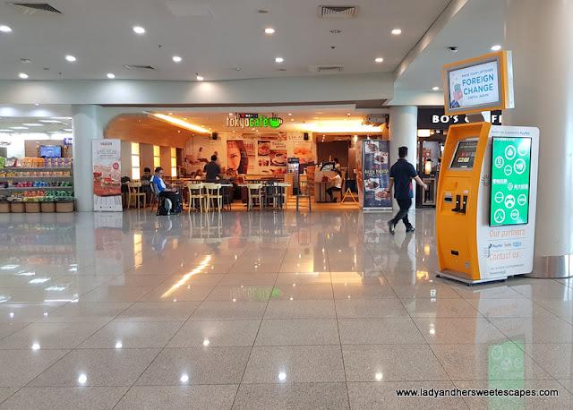 A Japanese cafe/restaurant inside Manila NAIA Terminal 3