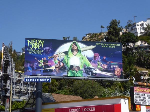 Neon Joe season 2 billboard