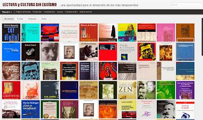 Profevix Lectura Y Cultura Sin Egoísmo Biblioteca Digital