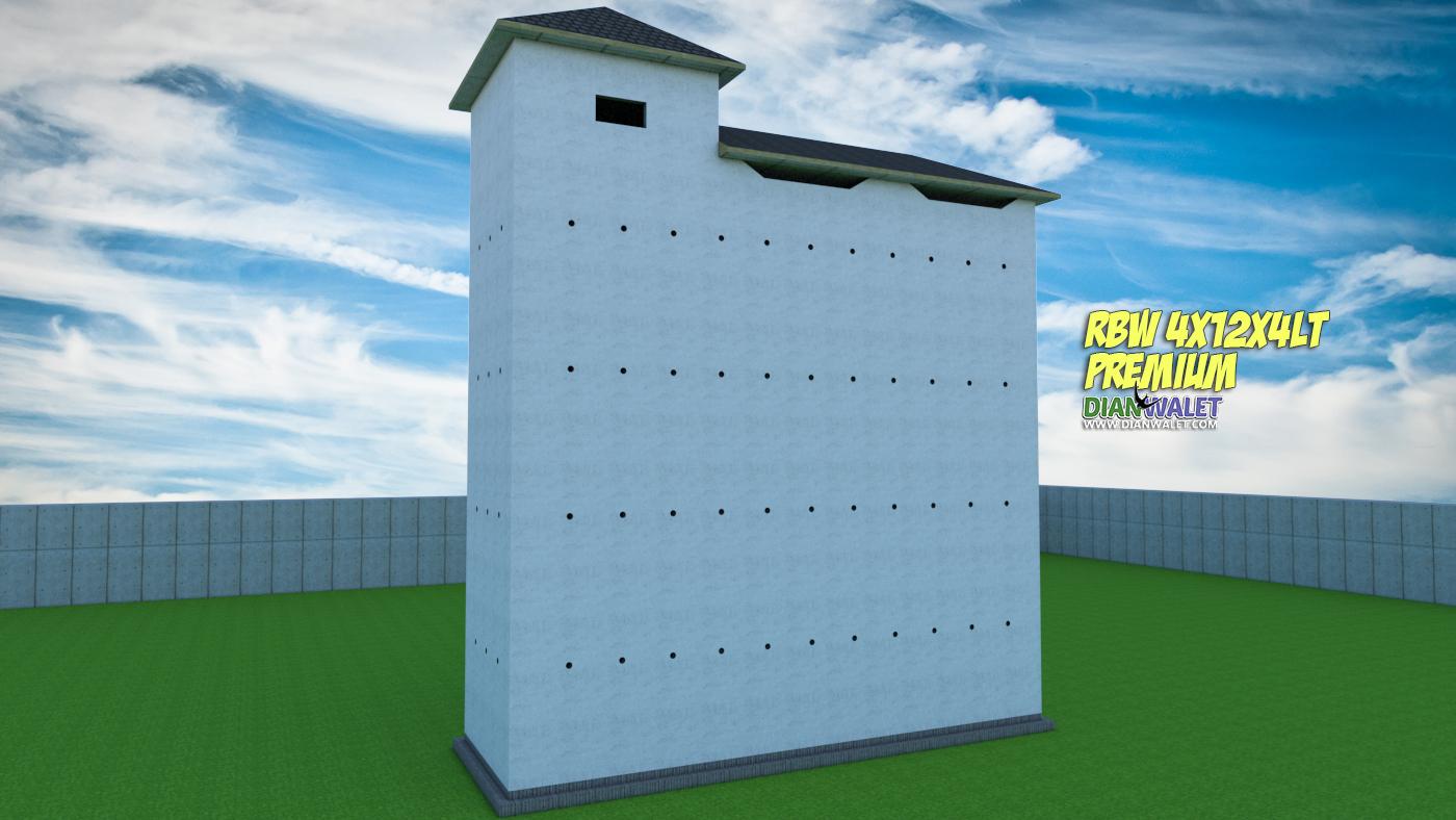 Desain Sarang Walet 4X12 4 Lantai Rumah Monyet DIAN WALET